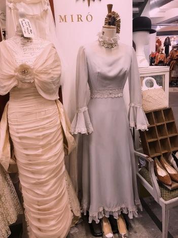 A wedding dress made for Scaz